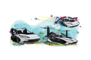 The Flying Car Might Be Your Next Company Car