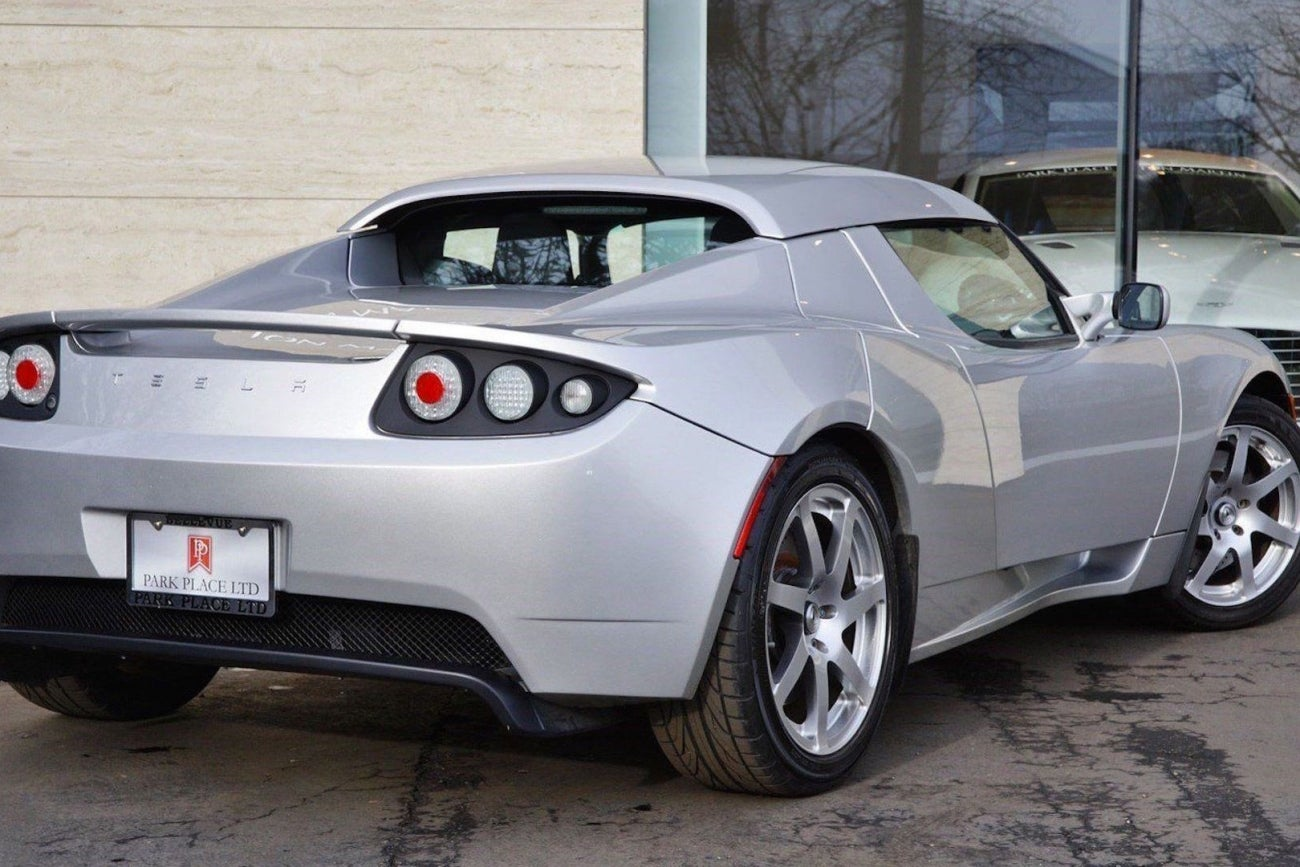 Tesla Roadster Prototype Up For Auction Starting At 1 Million