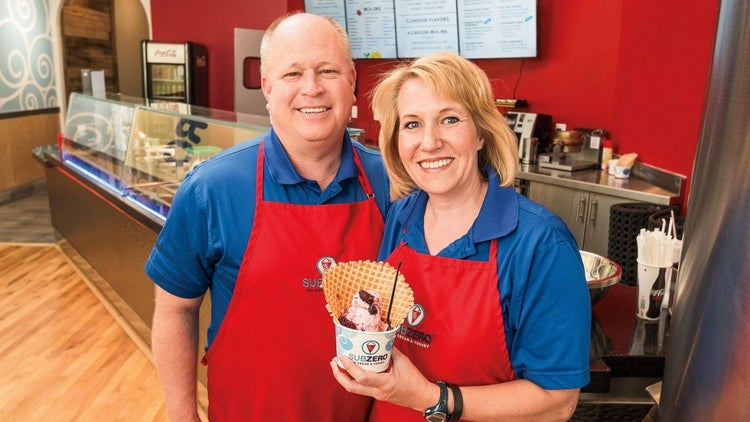 This Ice Cream Franchise Stands Out With Science