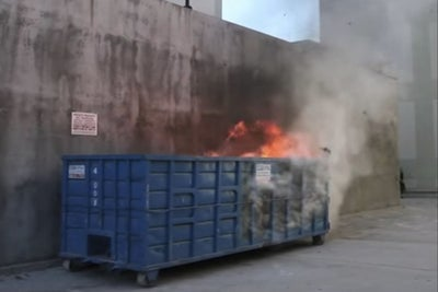 The Origin of the Internet's Most Famous Dumpster Fire