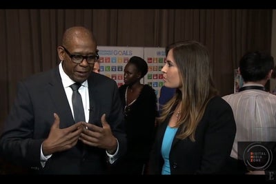 How Forest Whitaker Is Supporting Sustainable Development