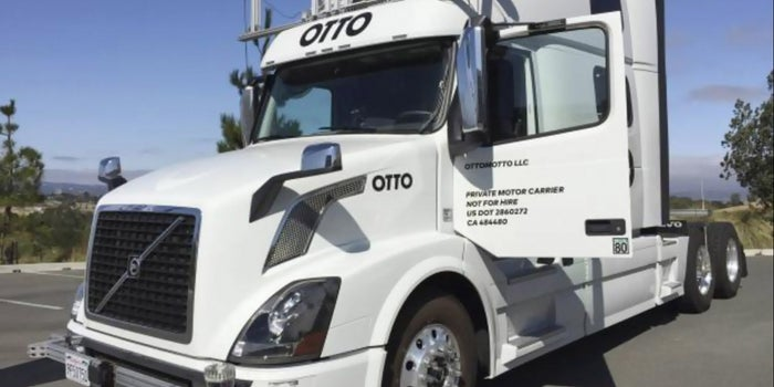 Uber's Otto Completes Budweiser Beer Run Across Colorado in Self-Driving Truck