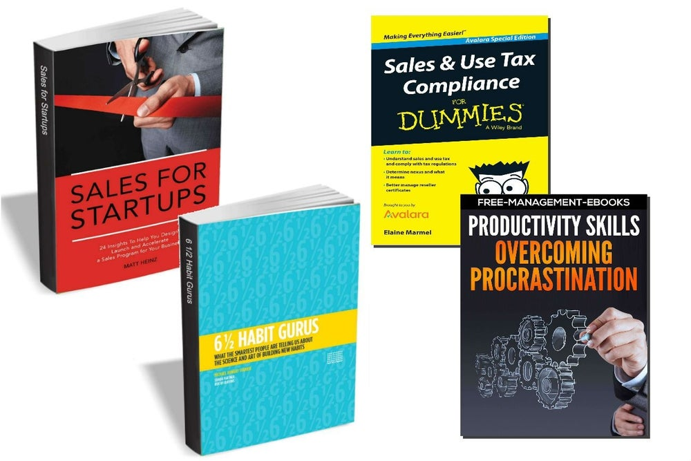 10 Free eBooks For Your Small-Business Success