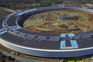 Check Out This Amazing Drone Footage of Apple's Future Campus