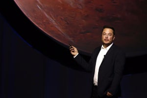 Are Elon Musk and NASA Fighting Over Mars?