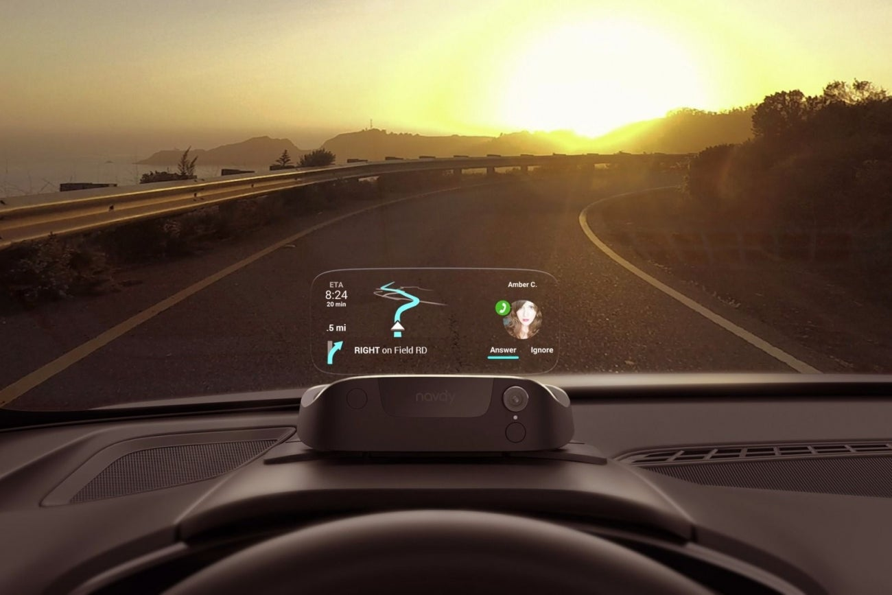 Here S Navdy A New Gadget That Can Make Your Old Car Smart