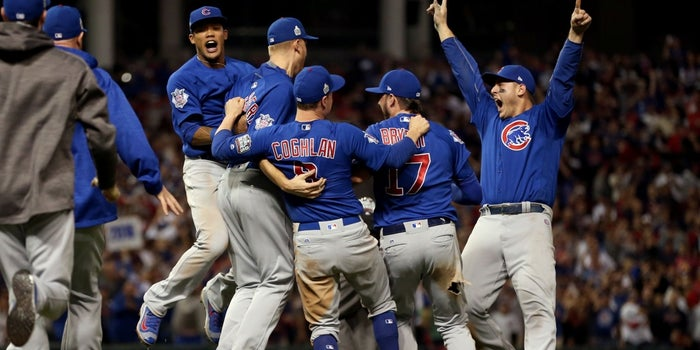Watch This Endearing Mentorship Moment from the Chicago Cubs' World Series Win