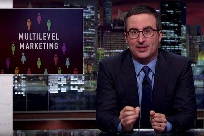 John Oliver: Multilevel Marketing Is Not a Good Path to Entrepreneursh...