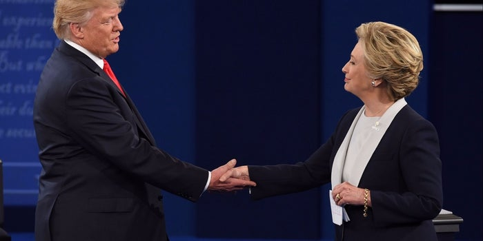 The Presidential Candidates' Takes on Business Issues (Infographic)
