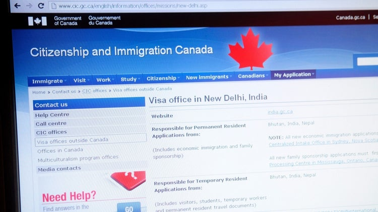 Canada's Immigration Website Crashed Last Night