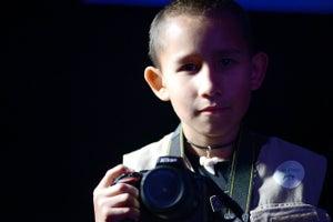 El niño fotógrafo que quiere salvar a los animales
