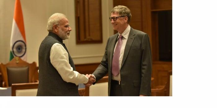 Bill Gates Calls India's Demonetization Drive A Bold Move