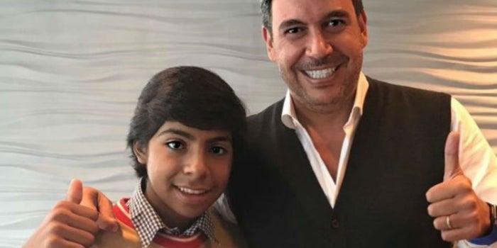 """Elias Ayub ya tiene un trabajo para Paco, """"el empresario del futuro"""""""