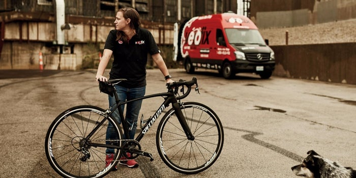 This Biker Ditched a Blah Job for the Perfect Franchise
