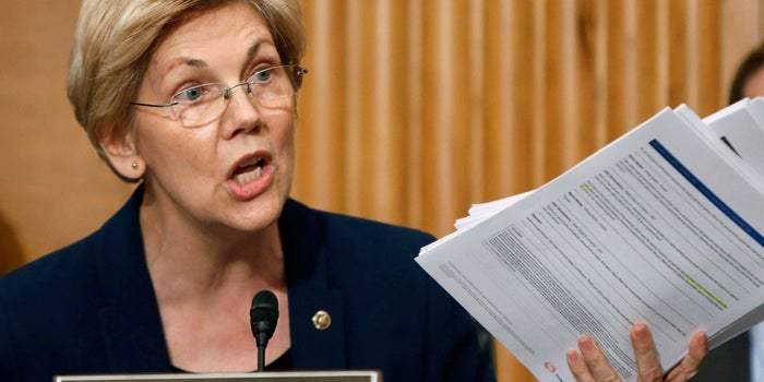 Warren to Wells Fargo: Promises to Treat Customers Better After Scandal Are 'Meaningless'