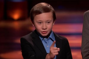 This 10-Year-Old Kidpreneur Swam on TV's 'Shark Tank'