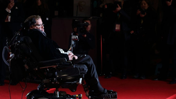 Stephen Hawking: The Obesity Epidemic Is a Problem 'Beyond My Understanding'