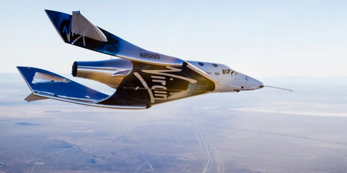 Virgin Galactic's New Spaceship Completes Its First Glide Test