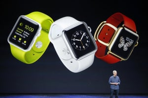 Apple Watch Sales Set Record in Holiday Week, Apple's Cook Says