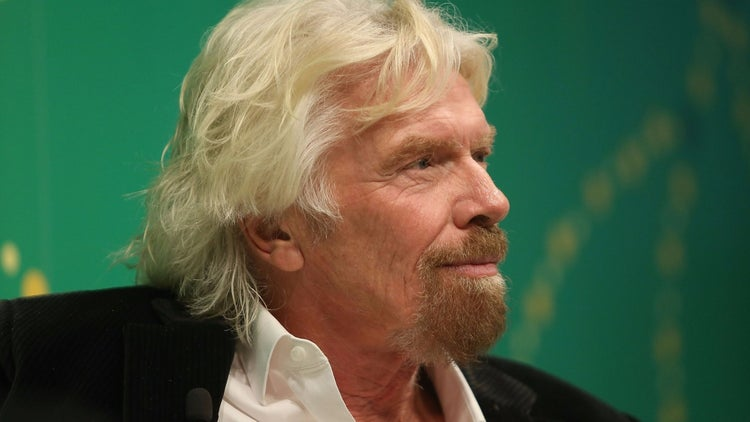 Richard Branson's Top Book Recommendations From 2016