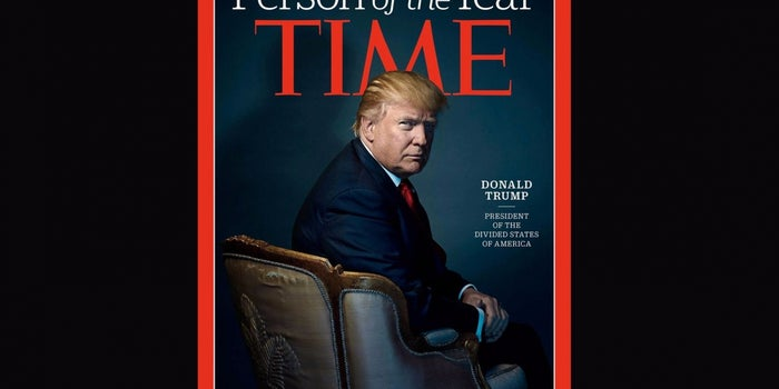 Time Magazine Names President-Elect Donald Trump Person of the Year