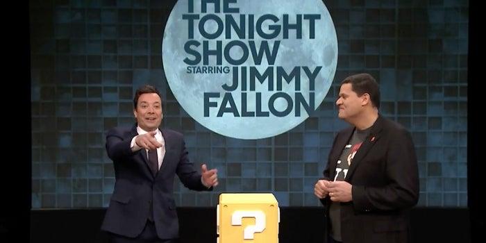 Watch Jimmy Fallon Play Super Mario on iPhone