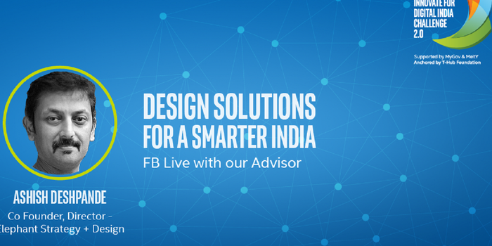 Want to Win Your Customers Using Design? Tune in to this Live Cast by Intel India with Ashish Deshpande