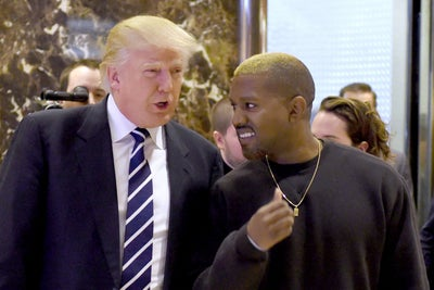 Kanye West and Donald Trump Meet at Trump Tower, Exchange Daps