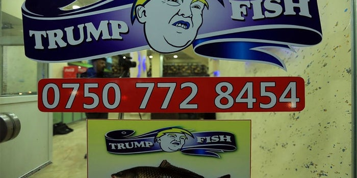 There's Now a Fish Restaurant in Iraq Named After Donald Trump