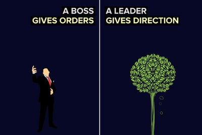 The Difference Between a Leader and a Boss