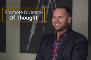 Promote Diversity Of Thought