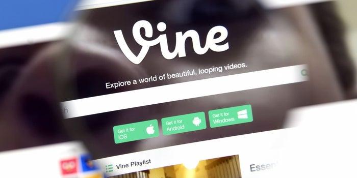 Vine To Continue As A Camera App