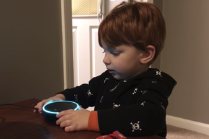 Whoops, Alexa Plays Porn Instead of a Kids Song!