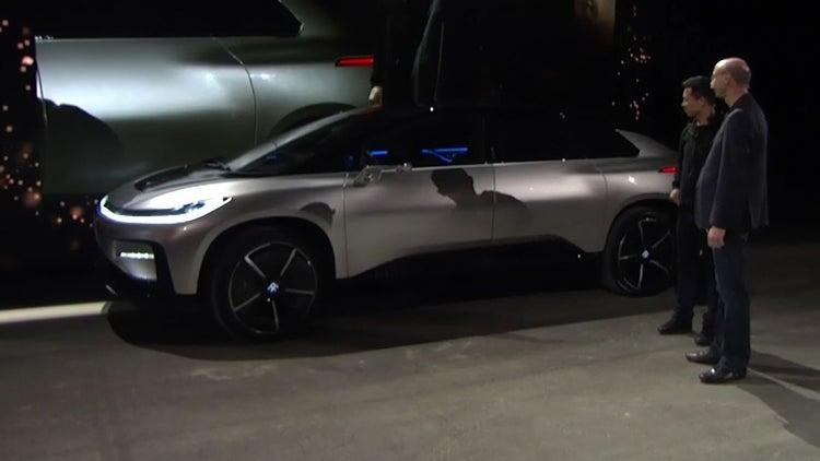 Execs Keep Cool When Faraday Future Parking Demo Fails at CES