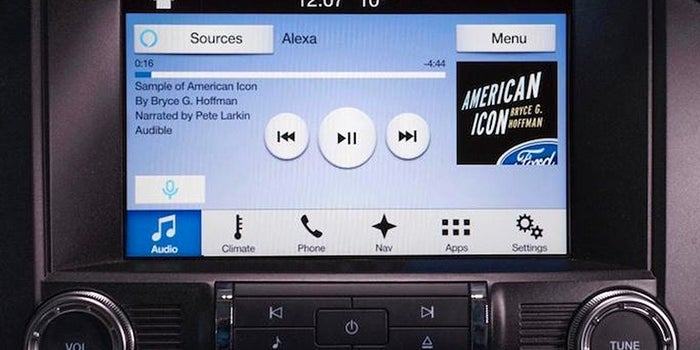 Ford Offers Amazon's Alexa in Cars