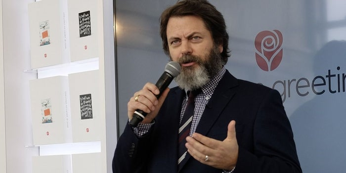 CES 2017: 'Parks and Recreation' Actor Nick Offerman on His Toughest Business Challenge