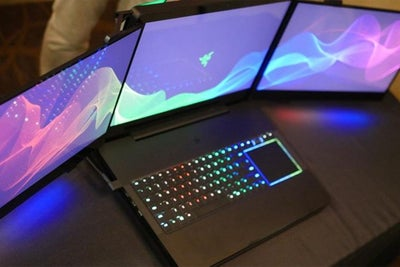 Razer's 3-Screen Laptops Stolen From CES Booth