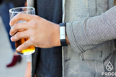 Proof Wearable Tracks Alcohol Levels