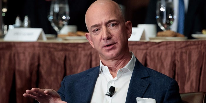 Jeff Bezos Knows the Difference Between Content and Complacent