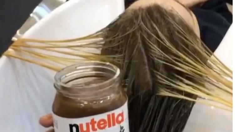 ¿Teñirte el cabello con Nutella? Un gurú de belleza dice que es posible