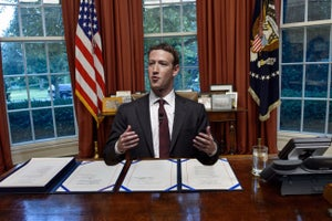 Mark Zuckerberg for President in 2020? Pundits and Comics Share Their Hot Takes.