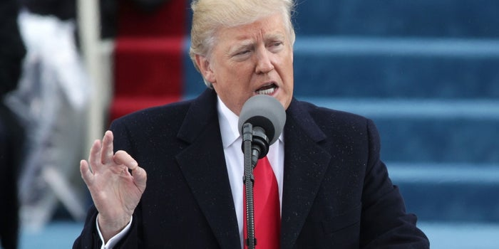 These Are the Most Inspiring Words From President Trump's Inauguration Speech