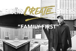 For This Successful Entrepreneur, Family Always Comes First
