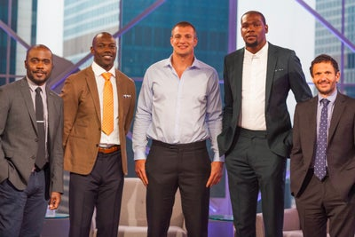Gronk Takes on 'Shark Tank': 'We'll Dominate'
