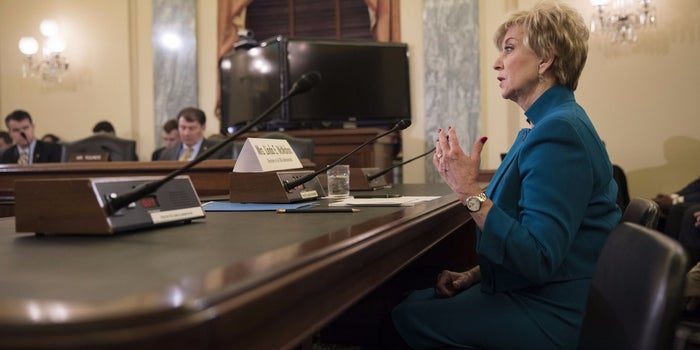 Proposed SBA Head Linda McMahon: Young Entrepreneurs Need Better Financial Know-How