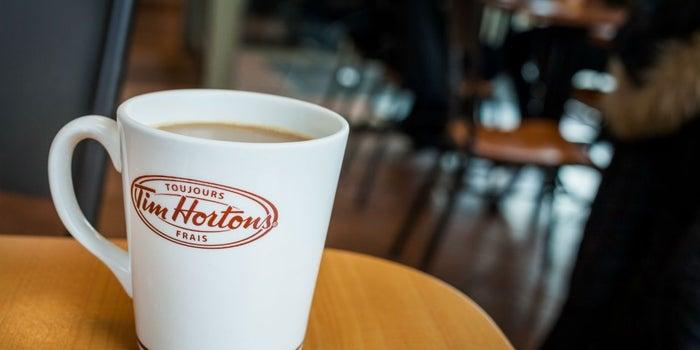 ¿Adiós, Starbucks? ¡Hola, Tim Hortons!