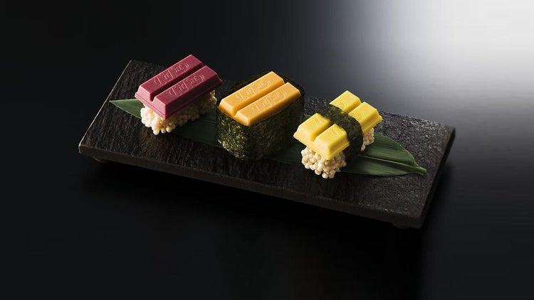 Pretty Soon, You Can Try Some Kit Kat Sushi