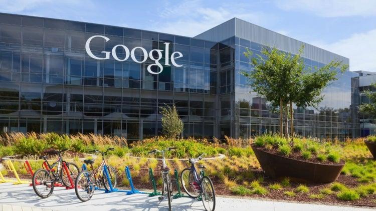 Así protestaron los empleados de Google contra Trump