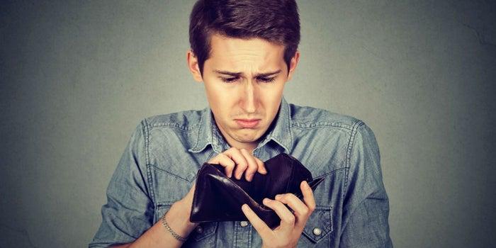 ¿Alguna vez el amor te rompió la cartera?
