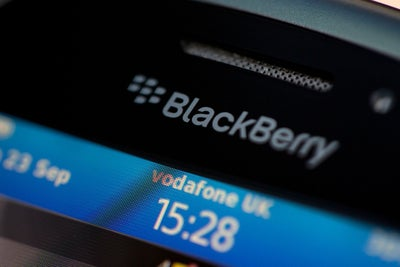 BlackBerry's Smartphone Market Share Has Reached 0 Percent